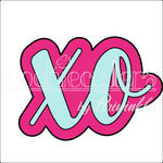 XO Cookie Cutter - Periwinkles Cutters LLC