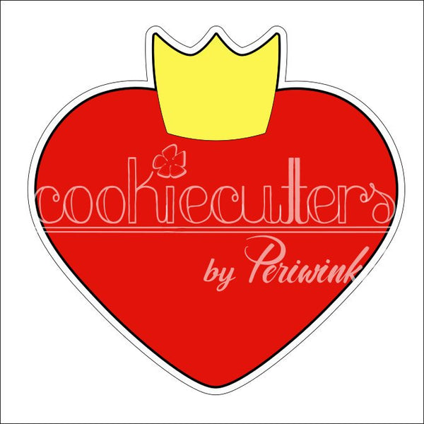 Queen Heart Cookie Cutter