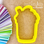 Frappuccino Cookie Cutter - Periwinkles Cutters LLC