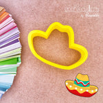 Sombrero Cookie Cutter - Periwinkles Cutters LLC