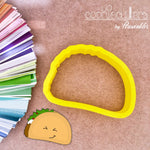 Taco Cookie Cutter - Periwinkles Cutters LLC