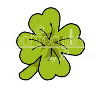 Clover Cookie Cutter - Shamrock Cookie Cutter - Periwinkles Cutters LLC