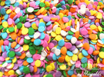 Mini Sequins Full Color Sprinkles Mixture 2oz
