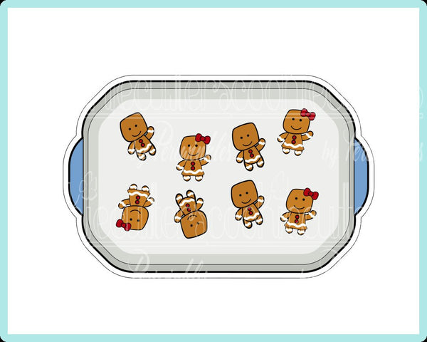 Baking Sheet Cookie Cutter - Periwinkles Cutters LLC