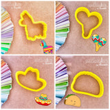 Maracas Cookie Cutter - Periwinkles Cutters LLC
