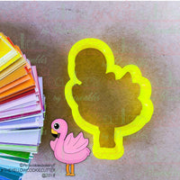 Flamingo Cookie Cutter - Periwinkles Cutters LLC