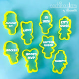 Dolls Full Body Set Cookie Cutter - Periwinkles Cutters LLC