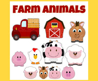 Farm Truck Cookie Cutter - Periwinkles Cutters LLC