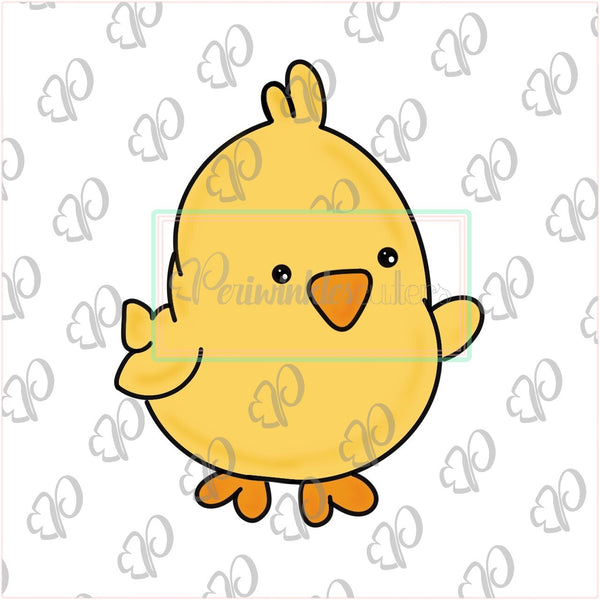 Cute Chick Cookie Cutter - Periwinkles Cutters LLC