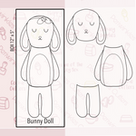 Bunny Doll 3 Pieces Set Cookie Cutter