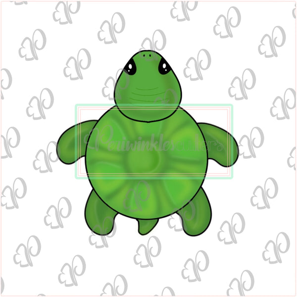 Cute Turtle Cookie Cutter - Summer Cookie Cutter