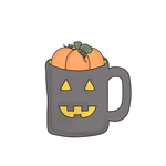 Pumpkin Mug Cookie Cutter