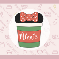 Minnie Coffee Cup Cookie Cutter