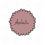 Arabella Scalloped Circle Cookie Cutter