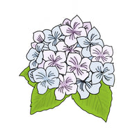Hydrangea Cookie Cutter - Flower Cookie Cutter - Periwinkles Cutters LLC