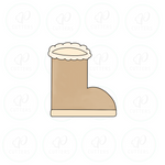 Cozy Boot Cookie Cutter
