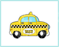 Taxi Cookie Cutter - Periwinkles Cutters LLC