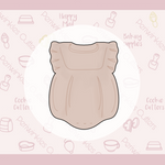 Baby Mauve Bodysuit Cookie Cutter