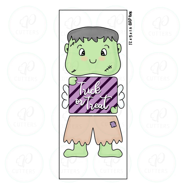 Frankenstein Boy 3 Pieces Set Cookie Cutter