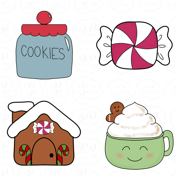 Sweet Christmas Mini Set Cookie Cutter