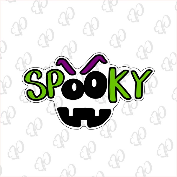 Spooky Plaque - Periwinkles Cutters LLC
