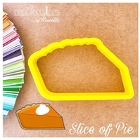 Slice of Pie Cookie Cutter - Periwinkles Cutters LLC