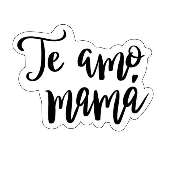 Te Amo Mamá Plaque Cookie Cutter - Periwinkles Cutters LLC