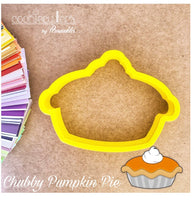 Pumpkin Pie Cookie Cutter - Periwinkles Cutters LLC