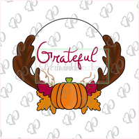 Fall Frame 2019 Cookie Cutter - Thanksgiving Frame 2019 - Periwinkles Cutters LLC