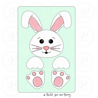 Build your Own Bunny Cookie Cutter Platter Set - Periwinkles Cutters LLC