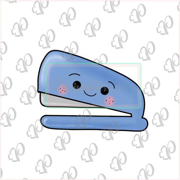 Kawaii Stapler Cookie Cookie Cutter - Periwinkles Cutters LLC
