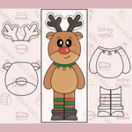 Reindeer 4 Pieces Set