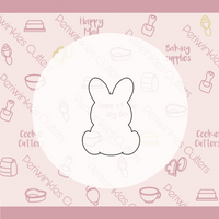 Peep Bunny 2021 Cookie Cutter