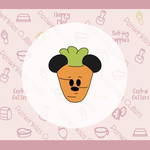 Carrot Mickey Ears Cookie Cutter