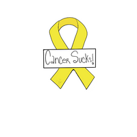Cancer Ribbon with Plaque Cookie Cutter - Periwinkles Cutters LLC