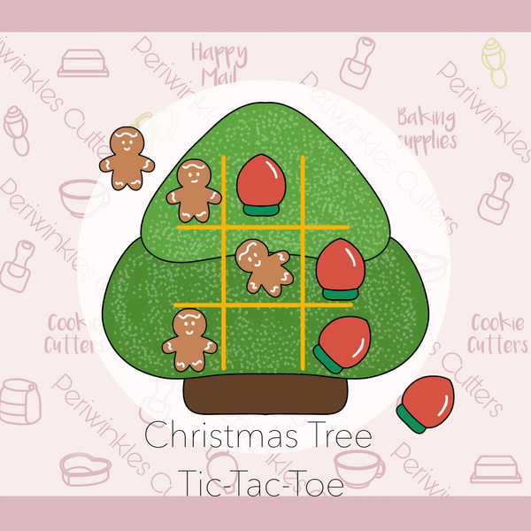 Christmas Tree Tic Tac Toe