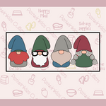 Christmas Gnomes 4 Pieces Set
