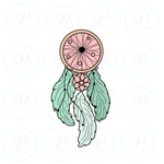 Boho Dream catcher Cookie Cutter - Periwinkles Cutters LLC