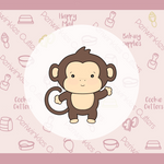 Silly Monkey Full Body Cookie Cutter