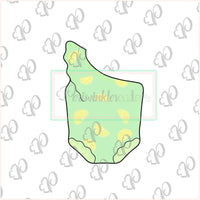 One Shoulder Baby Swimwear Cookie Cutter - Swimsuit - Summer Cookie Cutter - Periwinkles Cutters LLC