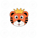 Tiger King Inspired Cookie Cutter - Cute Tiger King Face Cookie Cutter