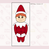 Elf on the Shelf 4 Pieces Set Cookie Cutter