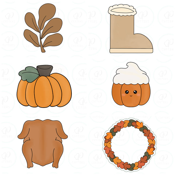 Autumn 2020 Set Cookie Cutters