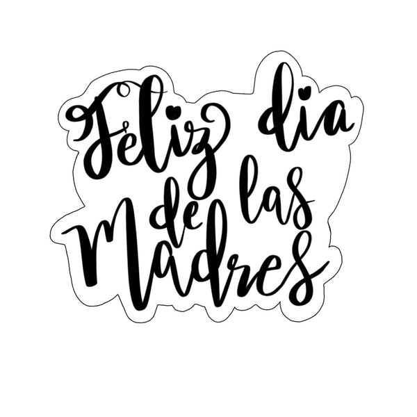 Feliz Dia de las Madres Plaque Cookie Cutter - Periwinkles Cutters LLC