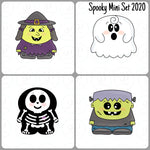 Spooky Pals Mini Set Cookie Cutter