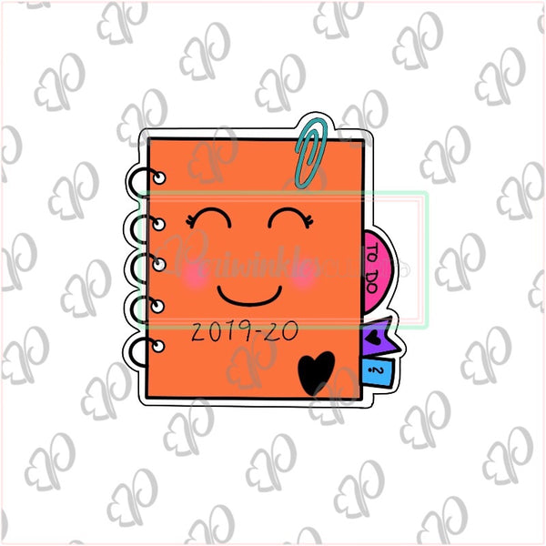 Kawaii Planner Cookie Cookie Cutter - Back to School