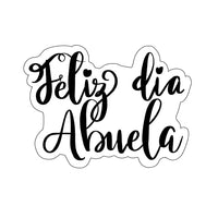 Feliz Dia Abuela Plaque Cookie Cutter - Periwinkles Cutters LLC