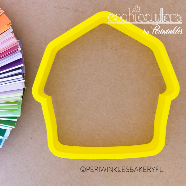 Barn Cookie Cutter - Periwinkles Cutters LLC