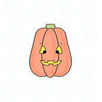 Tall Pumpkin 2020 Cookie Cutter