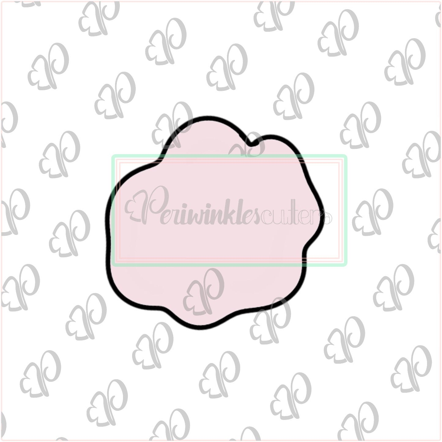 Puffy Bunny Tail Cookie Cutter - Periwinkles Cutters LLC